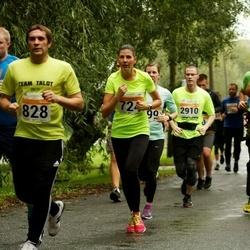 SEB Tallinna Maratoni Sügisjooks 10 km - Külli Jõgeda (724), Dmitri Levonjuk (828)