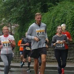 SEB Tallinna Maratoni Sügisjooks 10 km - Argo Mesila (618), Kaisa Lõhmus (865)