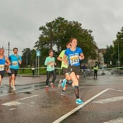 SEB Tallinna Maratoni Sügisjooks 10 km - Arvi Palutaja (171), Brit Rammul (243)