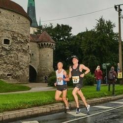 SEB Tallinna Maratoni Sügisjooks 10 km - Ago Veilberg (33), Sebastian Pikand (42)