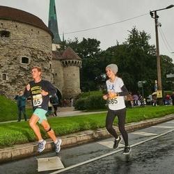 SEB Tallinna Maratoni Sügisjooks 10 km - Bobi Paadik (85), Anastasia Sakova (685)