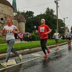 SEB Tallinna Maratoni Sügisjooks 10 km - Agne Kivisaar (515), Tanel Telliskivi (526), Daria Panyukhina (1860)