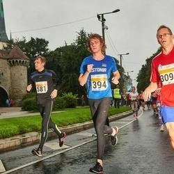 SEB Tallinna Maratoni Sügisjooks 10 km - Aarne Kuusmann (394), Ülo Reisner (581), Pasi Brandt (3094)
