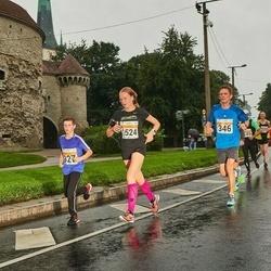 SEB Tallinna Maratoni Sügisjooks 10 km - Aivar Sims (346), Edward Jakimov (927), Kertu Kula (1524), Tanel-Priit Pallo (3941)