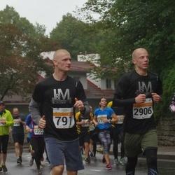 SEB Tallinna Maratoni Sügisjooks 10 km - Edvin Verhogljad (791), Timo Kingumets (2906)