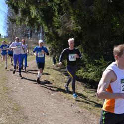 84. Suurjooks ümber Viljandi järve - Ago Vahtra (88), Kaspar Rätsep (293)