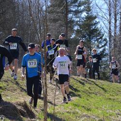 84. Suurjooks ümber Viljandi järve - Martin Eerme (373), Anatoli Läte (561), Oleg Smirnov (594), Jaanus Ruut (677)