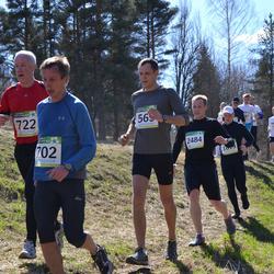 84. Suurjooks ümber Viljandi järve - Marek Pihlak (565), Andres Viira (702), Agris Knope (722), Andre Toikka (2484)