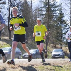 84. Suurjooks ümber Viljandi järve - Villu Zirnask (50), Arnold Merendi (588), Heino Põldoja (600)