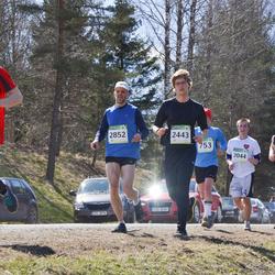 84. Suurjooks ümber Viljandi järve - Vaigo Mikson (2044), Arnold Provalski (2310), Andres Opp (2443), Egon Hansberg (2791), Robert Oetjev (2852)