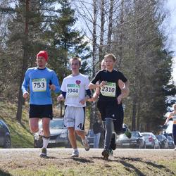 84. Suurjooks ümber Viljandi järve - Ard-Kristian Kakko (753), Vaigo Mikson (2044), Arnold Provalski (2310)