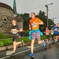SEB Tallinna Maratoni Sügisjooks 10 km - Lukas Lessel (3963), Renar Roolaht (5078)