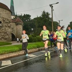 SEB Tallinna Maratoni Sügisjooks 10 km - Natalia Sukmanova (1291), Ave Moks (3589), Anne Lepik (3590)