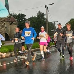 SEB Tallinna Maratoni Sügisjooks 10 km - Eve Leesment (1110), Siddharth Nakul Gulati (3756)