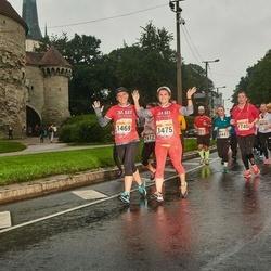 SEB Tallinna Maratoni Sügisjooks 10 km - Aleksandra Kartashova (1469), Julia Kotsoruba (1475)