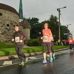 SEB Tallinna Maratoni Sügisjooks 10 km - Andra Aus (1035), Toomas Pippar (2428)