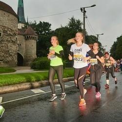 SEB Tallinna Maratoni Sügisjooks 10 km - Annabel Pern (1034), Lizeth Marii Salm (4622)