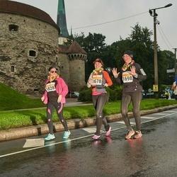 SEB Tallinna Maratoni Sügisjooks 10 km - Meiju Enho (1678), Satu Pylkkänen (1698), Eeva-Liisa Heiskanen (1828)