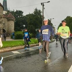 SEB Tallinna Maratoni Sügisjooks 10 km - Mervi Niemi (1486), Jyri Virmalainen (3083), Alisa Tugusheva (8760)