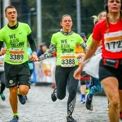 SEB Tallinna Maratoni Sügisjooks 10 km - Luise Runtal (3388), Kristo Kõivumägi (3389)