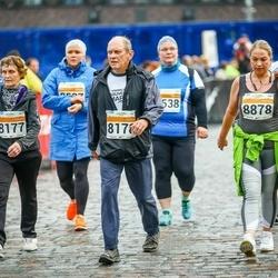 SEB Tallinna Maratoni Sügisjooks 10 km - Tiiu Illus (8177), Ants Illus (8178), Merlin Adomaitis (8878)