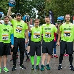 SEB Tallinna Maratoni Sügisjooks 10 km - Fred Randver (792), Gerd Kiili (793), Jüri Ratas (4438), Martin Pius (4439), Risto Hallang (4440)
