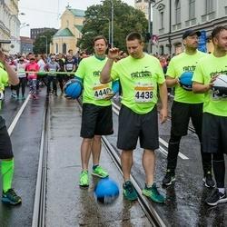 SEB Tallinna Maratoni Sügisjooks 10 km - Fred Randver (792), Jüri Ratas (4438), Risto Hallang (4440)