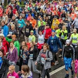 SEB Tallinna Maratoni Sügisjooks 10 km - Maili Tammo (10139), Ülle Leok (10141)