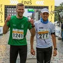 SEB Tallinna Maratoni Sügisjooks 10 km - Alar Voogla (277), Helge Grenager Solheim (1241)