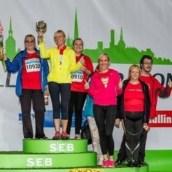 SEB Tallinna Maratoni Sügisjooks 10 km - Sirena Pruus (10910), Margit Voivod (10938)