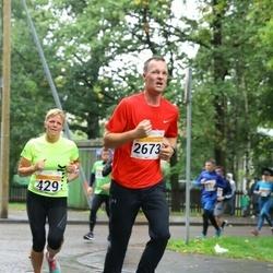 SEB Tallinna Maratoni Sügisjooks 10 km - Maris Freudenthal (429), Siim Ojakõiv (2673)