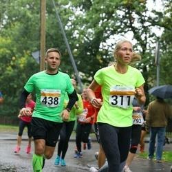 SEB Tallinna Maratoni Sügisjooks 10 km - Maire Kurm (311), Jüri Tuvik (438)