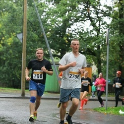 SEB Tallinna Maratoni Sügisjooks 10 km - Enrico Pärn (798), Raul Adams (2706)