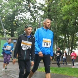 SEB Tallinna Maratoni Sügisjooks 10 km - Martin Lember (797), Kennet Lember (4478)