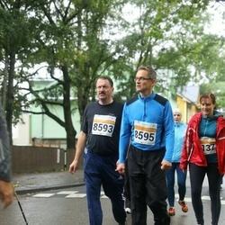 SEB Tallinna Maratoni Sügisjooks 10 km - Ari Ollila (8593), Jorma Kemppainen (8595)