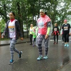 SEB Tallinna Maratoni Sügisjooks 10 km - Rowena Reyes (2758), Birgit Sootalu (11550)