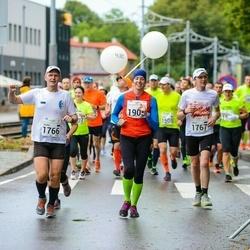 SEB Tallinna Maraton - Tauno Ojasaar (1766), Ainar Ojasaar (1767), Maia Looskari (1905)