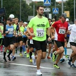 SEB Tallinna Maraton - Kasper Ferslev (216), Christian Brandt (218), Anatolii Diachenko (251)