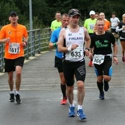 SEB Tallinna Maraton - Andres Siim (366), Ari Kilpinen (633), Nils Majewski (1617)