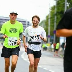 SEB Tallinna Maraton - Madis Saadik (370), Mait Sooaru (2053)