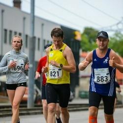 SEB Tallinna Maraton - Kristjan Tulp (821), Kaarel Tõruvere (883), Heleene Ilves (1696)