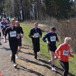 84. Suurjooks ümber Viljandi järve - Riina Tarassov (805), Agur Ostrak (943), Marek Kõpp (2165), Mihkel Mäemat (2459)