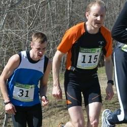 84. Suurjooks ümber Viljandi järve - Bert Tippi (31), Pärtel Piirimäe (115)