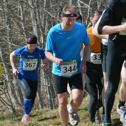 84. Suurjooks ümber Viljandi järve - Arnis Sulmeisters (344), Annika Vaher (367)
