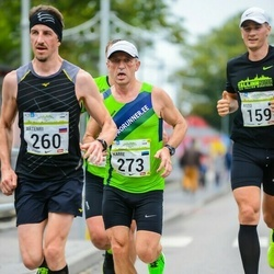 SEB Tallinna Maraton - Artemii Semenov (260), Karre Lauring (273)