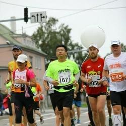 SEB Tallinna Maraton - Hairong Zhao (1236), Xiong Xiong (1671), Aare Huik (2050)