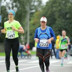 SEB Tallinna Maraton - Anna Tuomisto (1497), Annika Pang (1773)