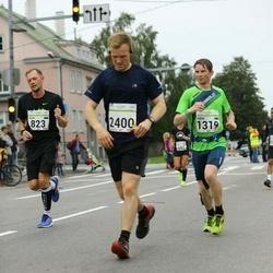 SEB Tallinna Maraton - Keijo Jeret (823), Endre Varik (1319), Reece Tinsley (2400)