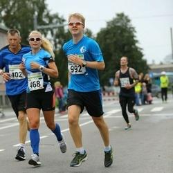 SEB Tallinna Maraton - Anni Niidumaa (468), Martin Lääts (992)