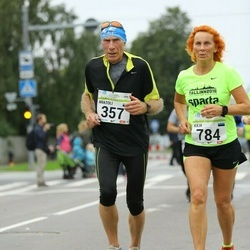 SEB Tallinna Maraton - Anatoli Šuvalov (357), Kaja Jõemets (784)